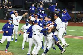 Dodgers win world series