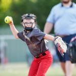 Maddi Softball throw: She's aiming for ya!