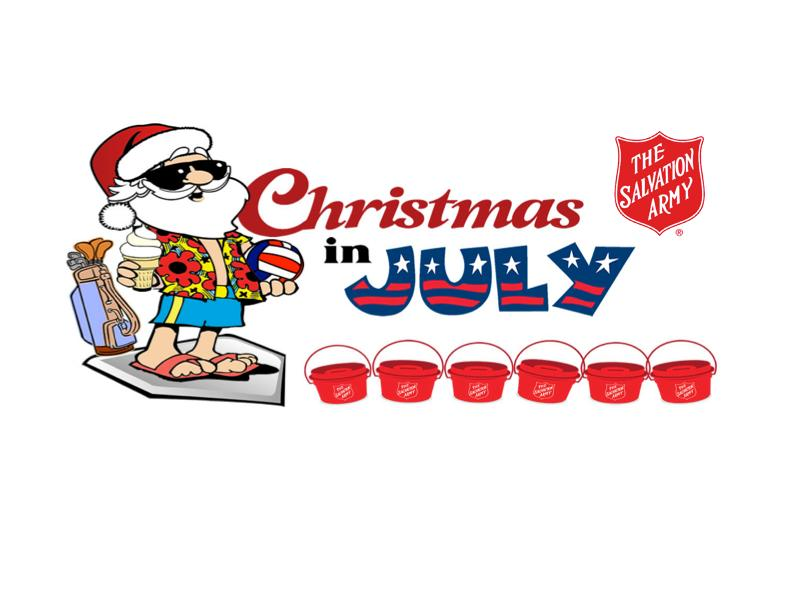 salvation army banks on christmas in july wclo