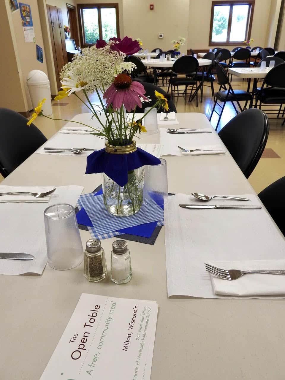 The Open Table WJVL - Open table dinner