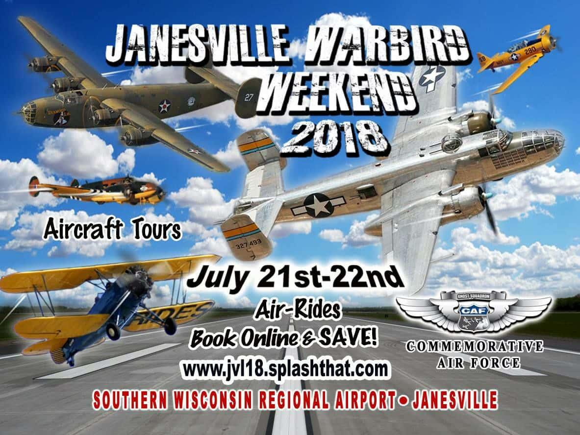 Janesville Warbird Weekend 2018 | WJVL