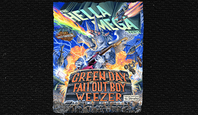 Win Tickets: Hella Mega Tour – Green Day, Fall Out Boy ...