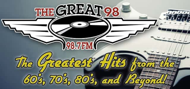 98 7 FM The Great 98 WMDC-FM | The Greatest Hits From The 60's, 70's