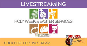Watch Holy Week and Easter Services Live!