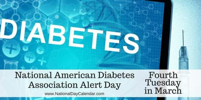 it s national american diabetes association alert day and kpat