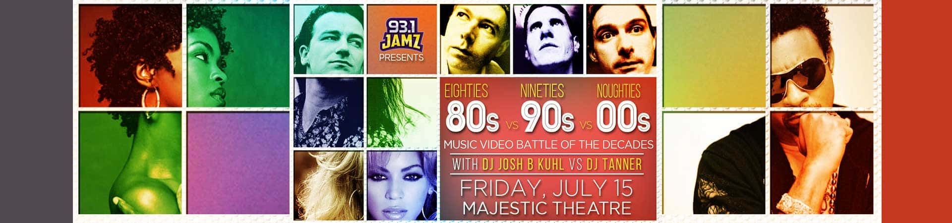 80s VS 90s VS 00s: A Music Video Battle of the Decades | 93 1 JAMZ