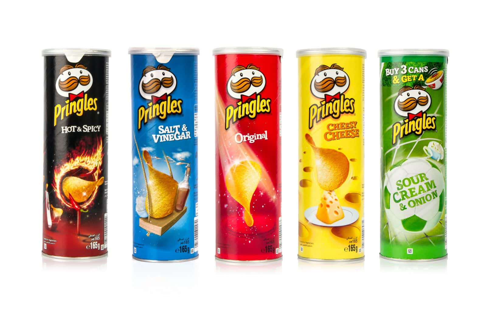 Guess the new flavor of Pringles chips and you could win