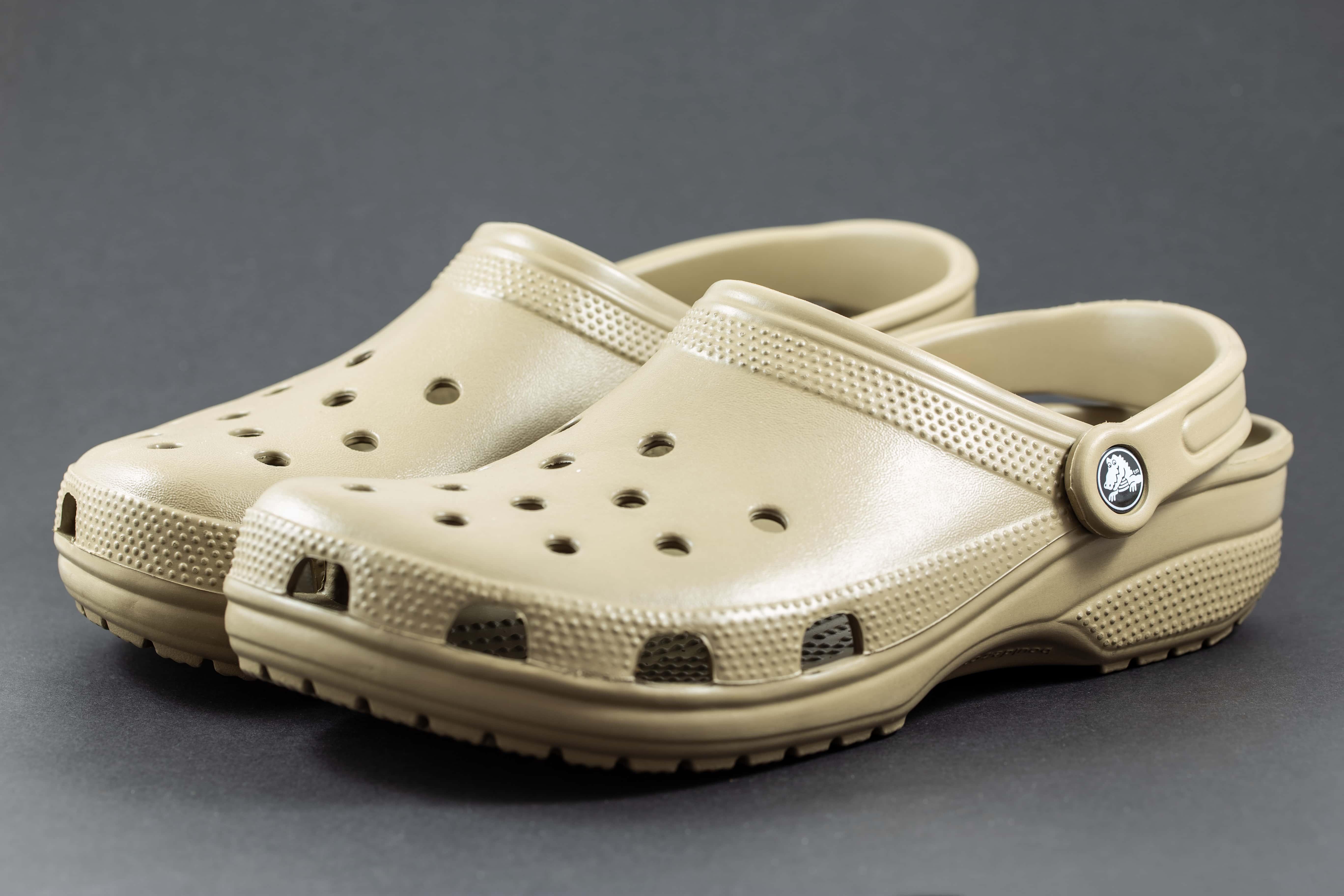 white sparkly wedding crocs