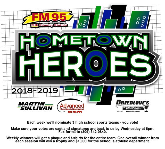 FM 95 Hometown Heroes | FM 95 WAAG