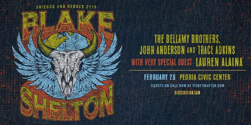 Blake Shelton Concert Ticket Winners   FM 95 WAAG
