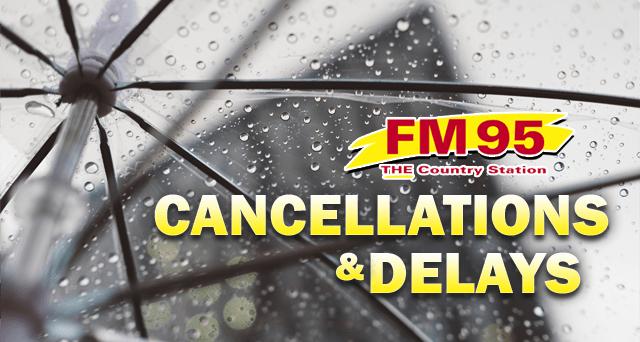 Cancellations   FM 95 WAAG