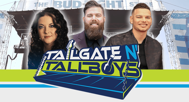 Tailgate N' Tallboys music festival with KANE BROWN and more