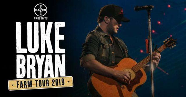 Luke Bryan 2020 Tour.Luke Bryan Farm Tour In Kansas Fm 95 Waag