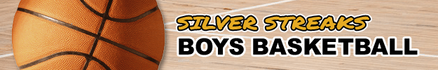 Silver Streaks Boys Basketball Header