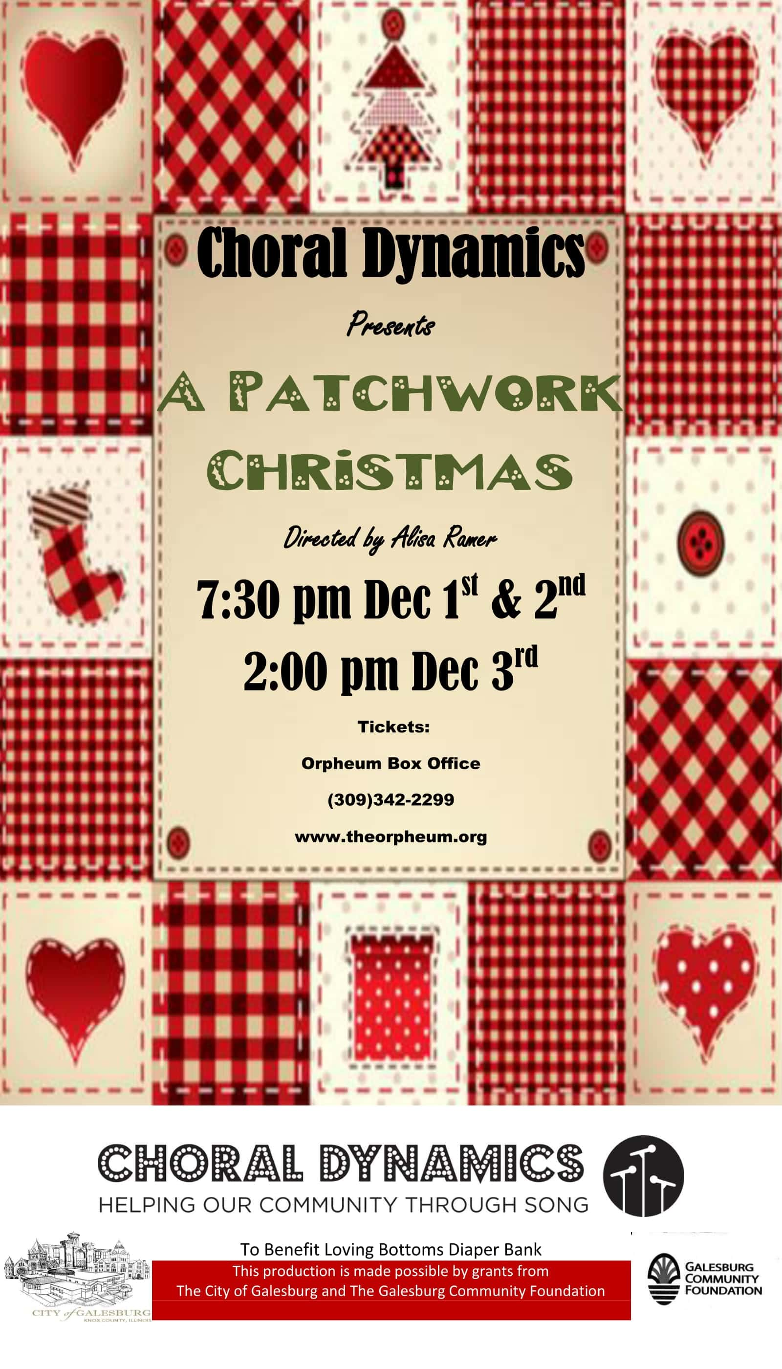 2020 Christmas Food Box 61401 A Patchwork Christmas | WGIL 93.7 FM & 1400 AM
