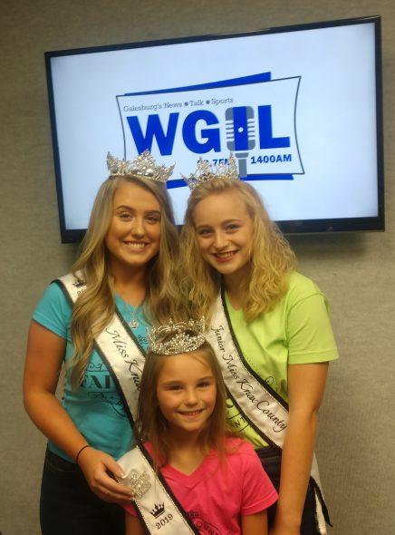 New Knox County Fair Queen Court   WGIL 93 7 FM & 1400 AM