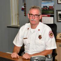 Galesburg Fire Chief Tom Simkins