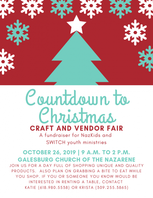2020 Christmas Events Galesburg Il Countdown to Christmas Craft and Vendor Fair | WGIL 93.7 FM & 1400 AM