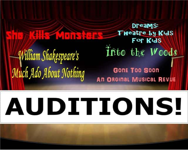 Auditions for Shakespeare, Into the Woods and more | The LASER