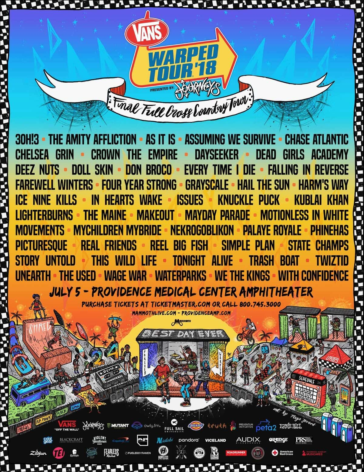 Vans warped tour 2018 mix933 vans warped tour 2018 m4hsunfo