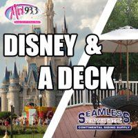 Win A Trip To Disneyland & A New Deck! | Mix93 3