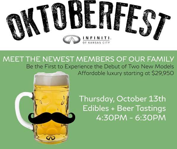 Infiniti Of Kansas City >> Oktoberfest At Infiniti Of Kansas City Q104 New Hit Country
