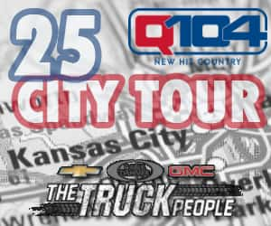 Cable Dahmer Gmc >> Q104 S 25 City Tour Brought To You By Cable Dahmer Chevy