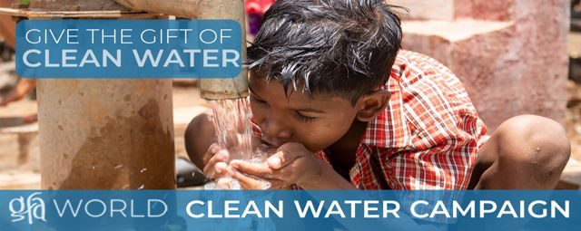 Gospel for Asia Clean Water Campaign
