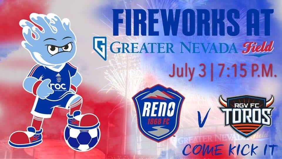 Reno 1868 FC vs  Rio Grande Valley FC | The River 103 7