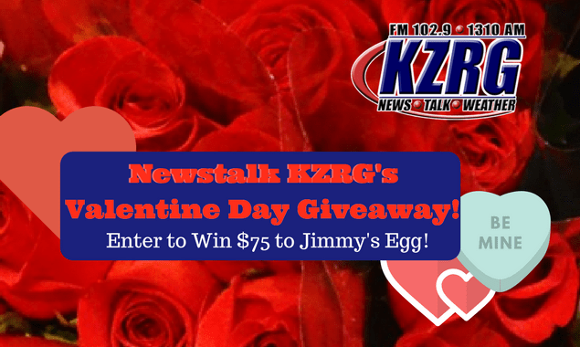 Newstalk KZRG's Valentine Day Giveaway!