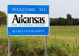 Arkansas Road Sign
