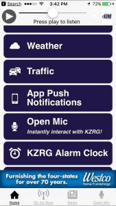 KZRG App