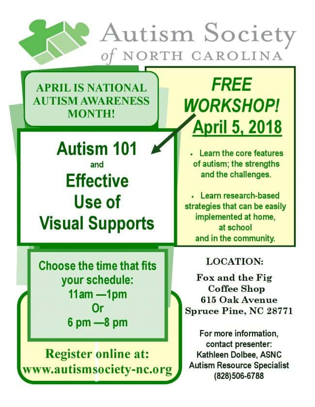 Community Supports For Effective >> Autism 101 And Effective Use Of Visual Supports Workshop