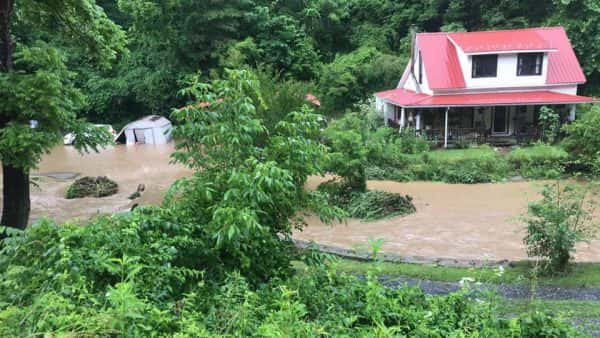 Flash Flooding in Yancey & Mitchell Counties | WKYK, WTOE
