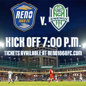Reno 1868 FC v  OKC Energy FC | Ten Country 97 3 | Reno