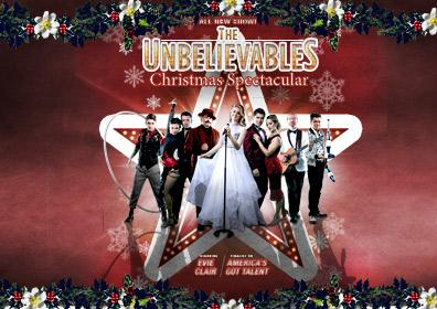 The Unbelievables Christmas Spectacular Ten Country 973