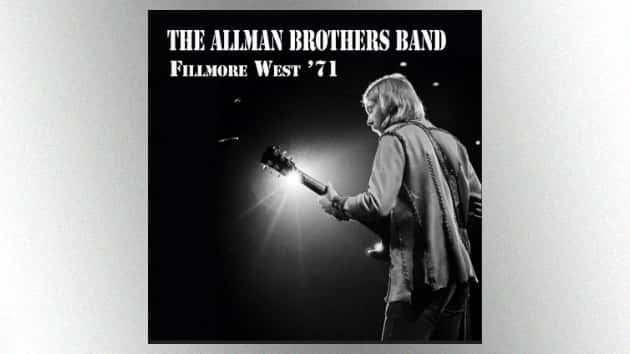 1971 Allman Brothers Band Concerts At The Fillmore West To