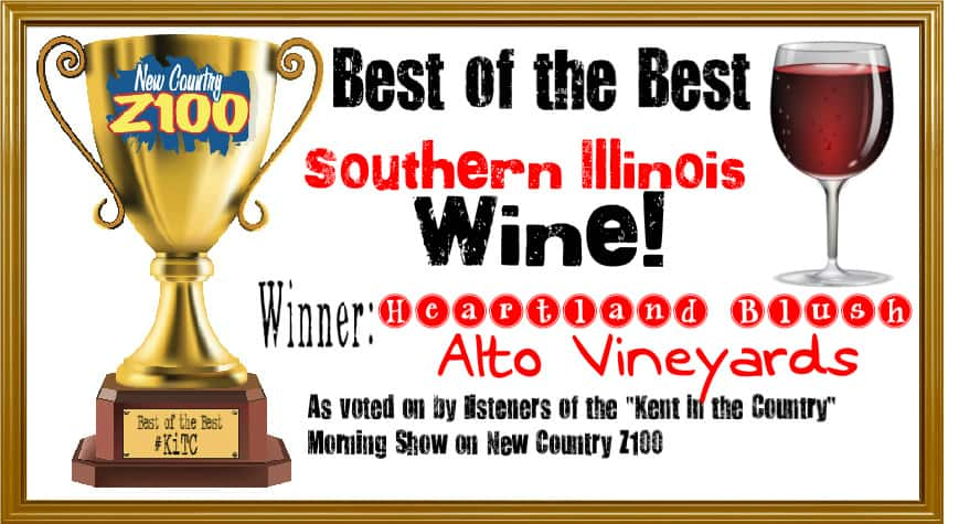 Wine WINNER -- Heartland Blush