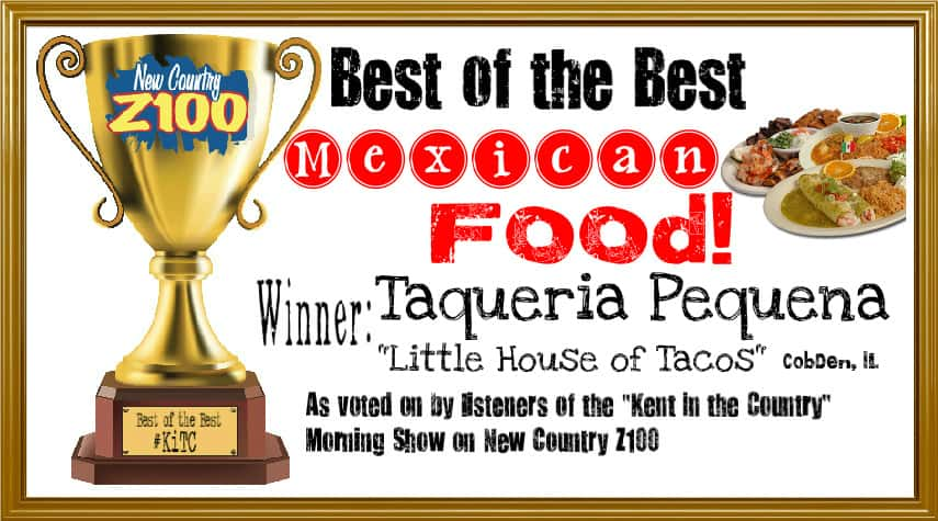 mexican food WINNER -- Little house of tacos