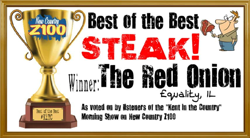 Steak WINNER red onion