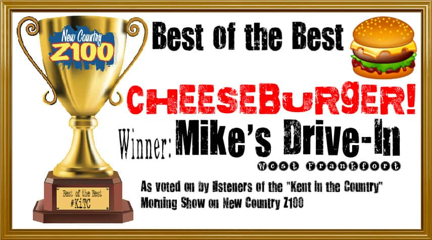 cheeseburger WINNER - Mike's