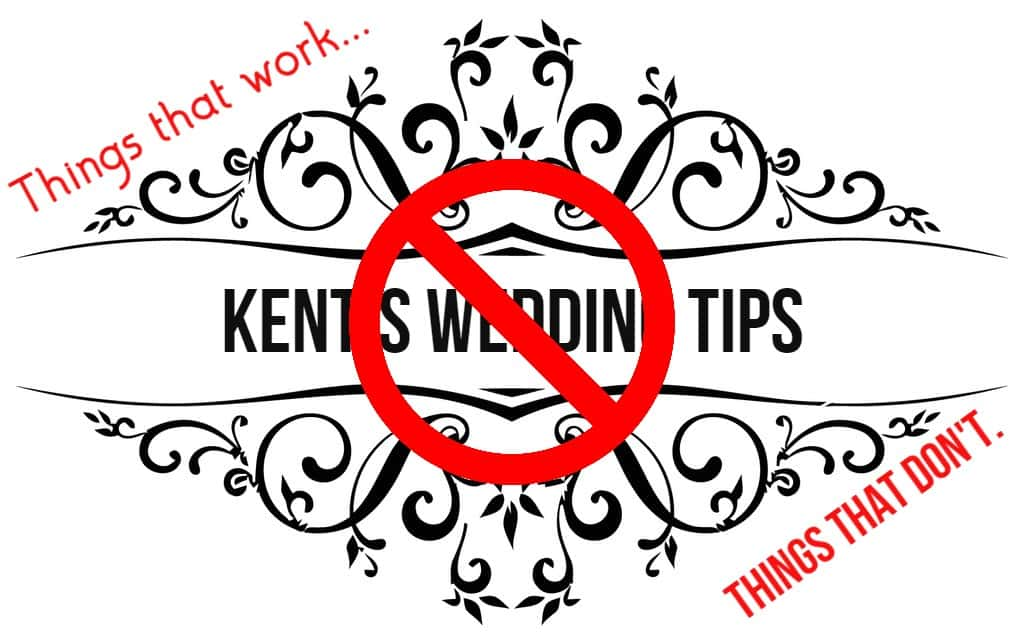 Kents Wedding Tips 1 Just Say No To The Aisle Runner New