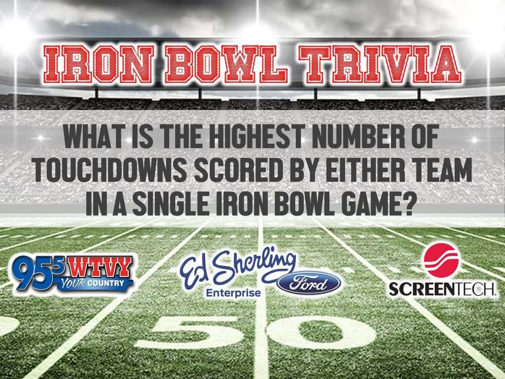 Ed Sherling Ford >> Ed Sherling Ford Iron Bowl Trivia 95 5 Wtvy