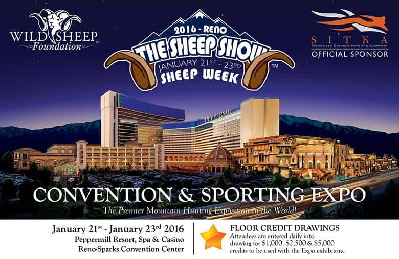 Wild Sheep Show with Peppermill