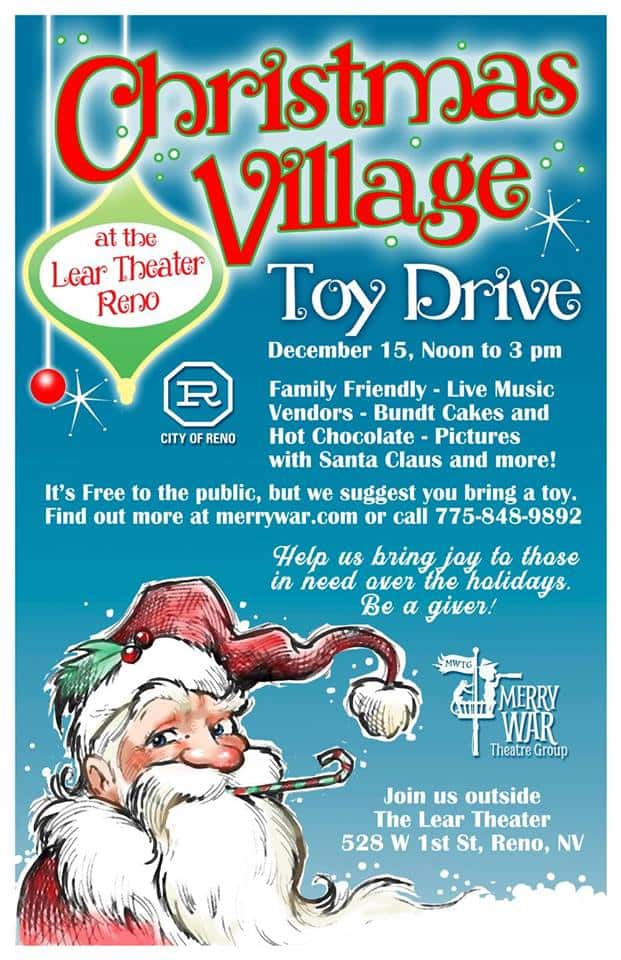 Christmas Village and Toy Drive | 106 9 More FM | Reno Media Group, LLC