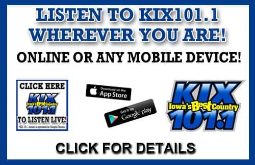 KIX 101 1 | Iowa's BEST Country
