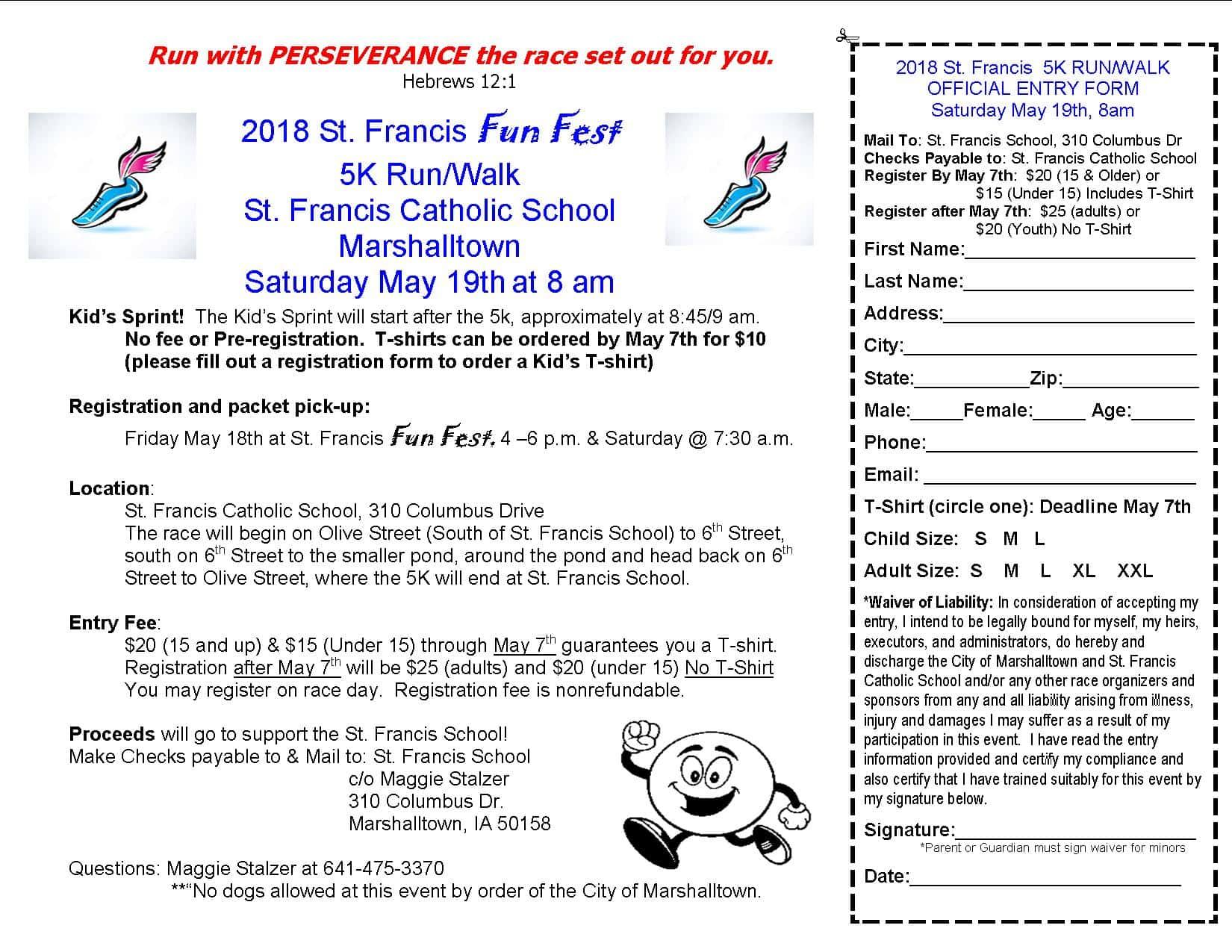 St  Francis FUN Fest 5K | KIX 101 1