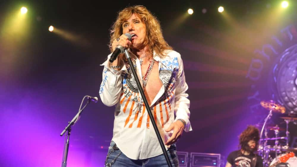 """Whitesnake Celebrate """"The Purple Tour"""" With New Book And Live Package"""