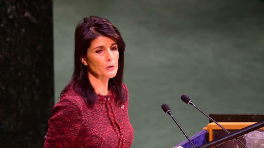 U.S. Ambassador Nikki Haley Tells U.N. That Russia Was Responsible For Chemical Attack