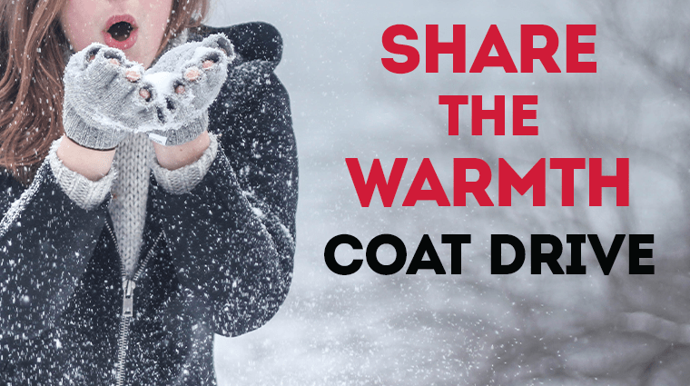 Share the Warmth Coat Drive